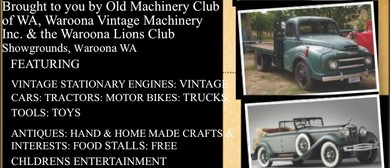 Vintage Machinery Rally