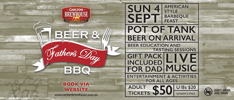 Father's Day - Beer and Barbecue