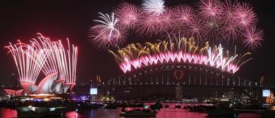 Watch the NYE Fireworks