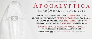 Apocalyptica - Shadowmaker Tour 2016