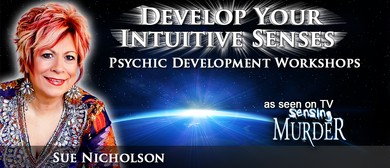 Psychic Medium Sue Nicholson Psychic Development Wshop Lev 1