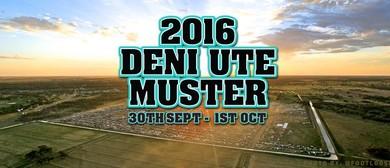 Deni Ute Muster 2016