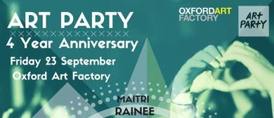 Art Party 4 Year Anniversary