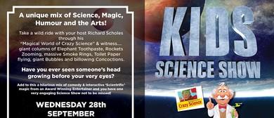 School Holidays - Kids Science Show
