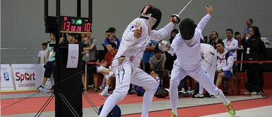 Asian Masters International Fencing Competition