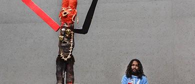 Mud Men - Ramesh Mario Nithiyendran Installation