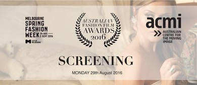 Australian Fashion Film Awards Screening