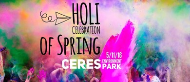Holi Celebration of Spring Festival