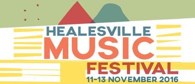 Healesville Music Festival 2016