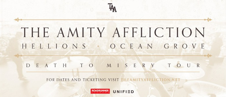 The Amity Affliction - Death to Misery Tour