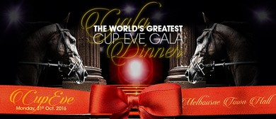 'The World's Greatest' Melbourne Cup Eve Gala Dinner