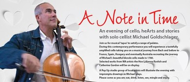 A Note In Time With Cellist Michael Goldschlager