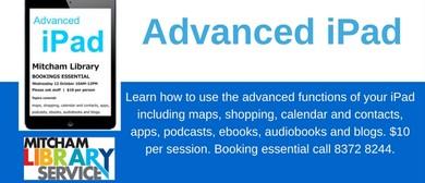 Advanced iPad Workshop