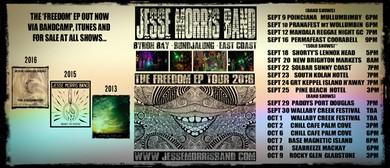 Jesse Morris Band - Solo - Freedom EP Tour