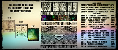 Jesse Morris Band - Freedom EP Tour