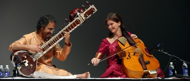 Instrumental Duet of Sitar and Indian Cello