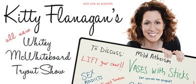 Kitty Flanagan - All New Whitey McWhiteboard Show
