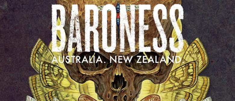 Baroness Australian Tour