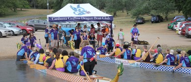 Try Dragon Boating With the Canberra Griffins
