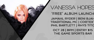 Vanessa Hopes Album Launch