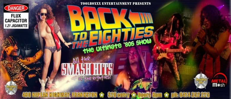 Back To The Eighties '80s Show Grand Final After party