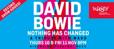 David Bowie - A Tribute With WASO