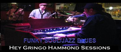 Daryl Roberts and Hey Gringo Kickin the B Hammond Sessions
