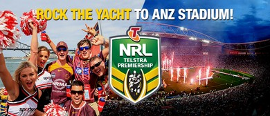 'Rock the Yacht' NRL Grand Final Cruise