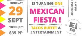 Mexican Fiesta! El Atino & Co. Anniversary