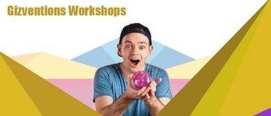Gizventions School Holiday Workshops
