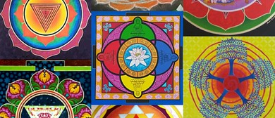Escape to Art With Mandala Heart