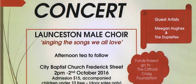 Launceston Male Choir Concert