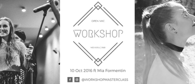 Workshop Ft Mia Formentin