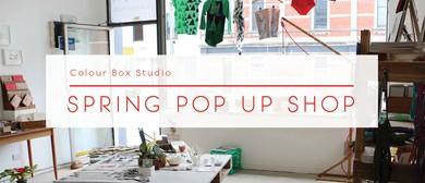 Colour Box Studio Spring Pop Up Shop 2016