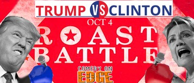 Trump Vs Clinton Roast Battle and Stand Up