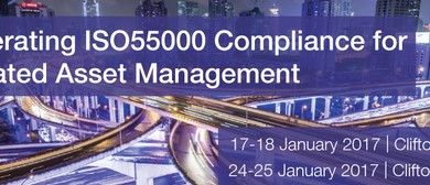 Accelerating ISO55000 Compliance for Integrated Asset Mgmt
