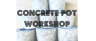 Cement Pot Workshop