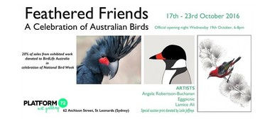 Feathered Friends - National Bird Week Group Show