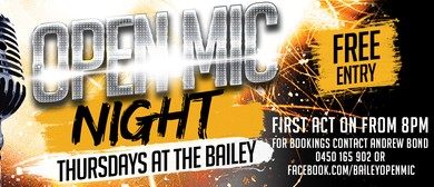 The Bailey Open Mic Night