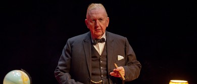 Pip Utton As Churchill and Playing Maggie