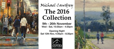 The 2016 Collection - Exhibition By Michael Cawdrey