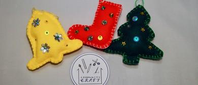Christmas Felt Ornaments Workshop
