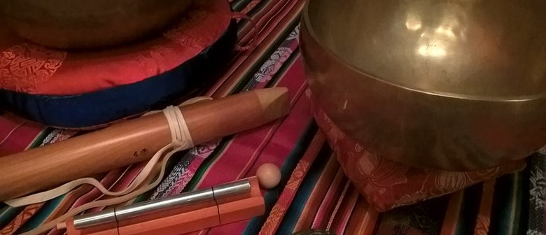 Gongs , Native American Drum & Flutes Sound Journey