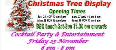 Charity Christmas Tree Display