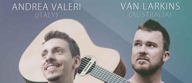 Fingerstyle Concert Series With Andrea Valeri & Van Larkins