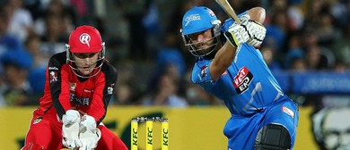 KFC BBL 06 Game 27 - Adelaide Strikers Vs Melbourne Renegade