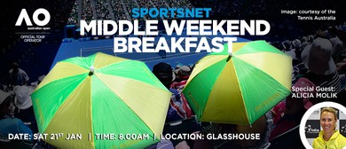 The Aust Open 'Middle Weekend' Breakfast with Alicia Molik