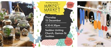 Maribyrnong Makers Market - Twilight Market 2016