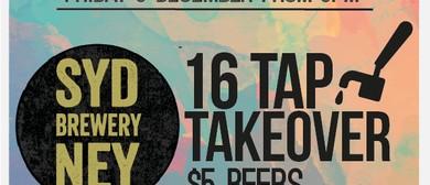 1st Birthday - Sydney Brewery 16 Tap Takeover
