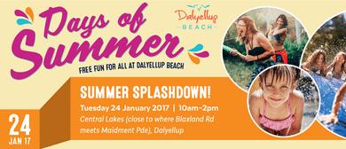 Summer Splashdown